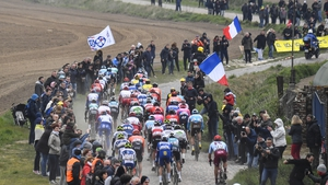 Crowds gather at the 2019 Paris-Roubaix
