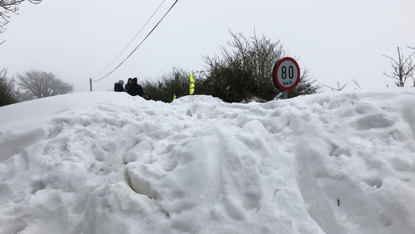 The extreme weather event paralysed much of Northern Europe, including Ireland, in early 2018 (File pic: Rolling News)