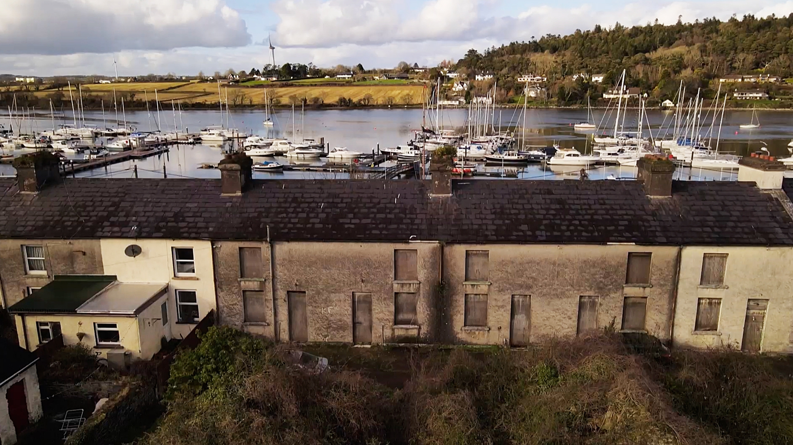 Image - Properties owned by the OPW in Crosshaven in Co Cork have been vacant for decades