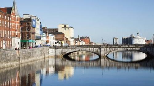 The men were arrested on Patrick's Bridge in Cork City (file image)