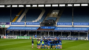 Leinster have played 11 matches behind closed doors