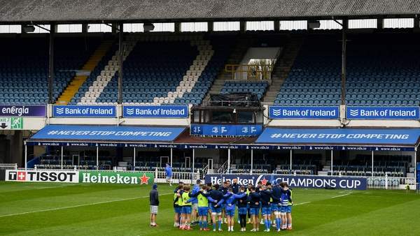 The plan for the RDS event was for 2,000 fans to attend