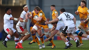 Exeter overcame a ropey start to dismiss the challenge of Lyon