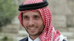 Hamzah (pictured here in 2015) is the eldest son of late King Hussein and his American wife Queen Noor
