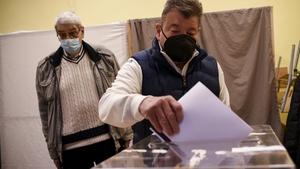 Bulgaria held the election while battling a third wave of Covid infections