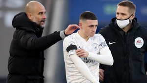 Pep Guardiola gave Phil Foden a brief cameo against Leicester