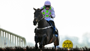 El Barra, with Paul Townend up, during Sunday's action at Faioryhouse