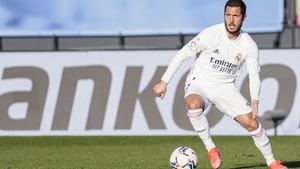 Eden Hazard in action against Elche last month