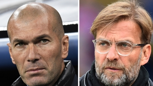 Zidane and Klopp lock horns for the first time since the 2018 Champions League final