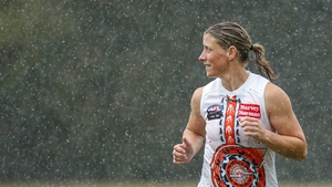 Cora Staunton hit 10 goals during the regular season, though the Giants failed to reach the play-offs