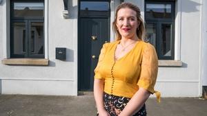 Jen Sheahan outside her artisan cottage in Dublin