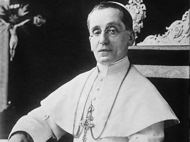 Century Ireland 202 - Pope Benedict XV in 1915. Photo: Library of Congress