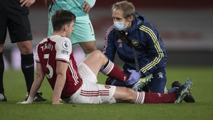 Kieran Tierney could be out for the season