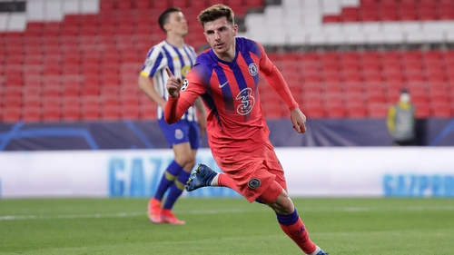Mason Mount gave Chelsea the lead against Porto with a fine turn and strike