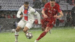 Kylian Mbappe bagged a brace for Paris Saint-Germain