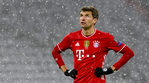 Thomas Muller's team had 14 shots on target compared to Paris Saint-Germain's 5