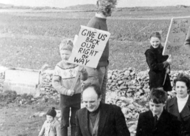 Barrow Beach Protest (1971)