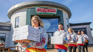 The first phase of Krispy Kreme's introduction to retail stores includes 20 locations