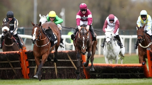 Abacadabras has the loose  Jason The Militant for company jumping the last