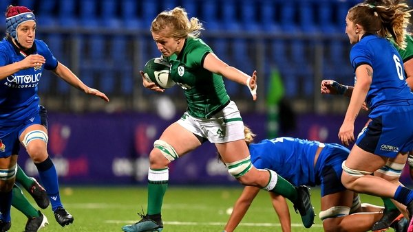 Flanker Claire Molloy would be among the contenders, says Griggs