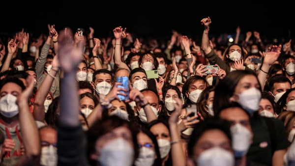 A March concert in Barcelona was made possibleby the use ofrapid antigen tests