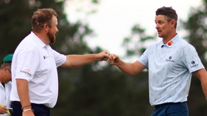 Lowry's impressive 71 was somewhat overshadowed by the round of his playing partner