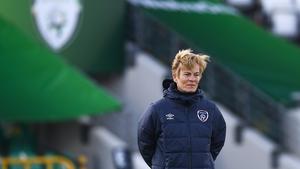 Republic of Ireland manager Vera Pauw