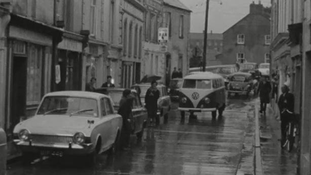Bridge Street in Callan, County Kilkenny