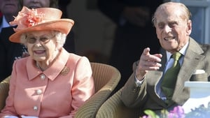 Queen Elizabeth and Prince Philip pictured in 2018