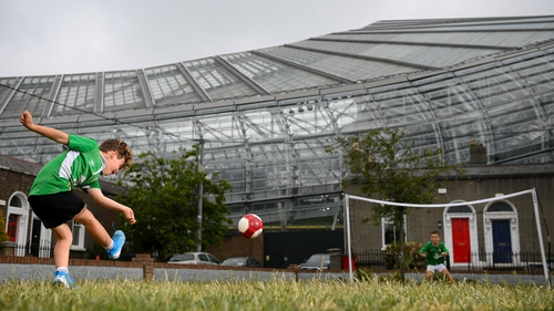 The Aviva Stadium is down to host three group games and a round-of-16 clash