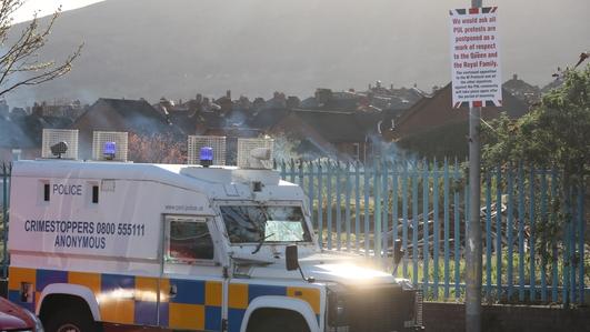 Protesters clash with police despite calls for calm