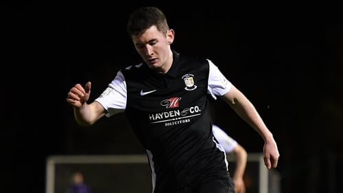 James Doona won it for Athlone Town