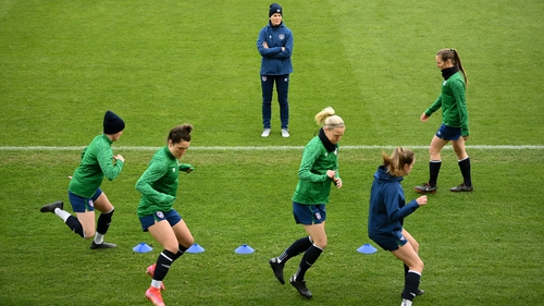 Ireland running through their paces ahead of Belgium friendly