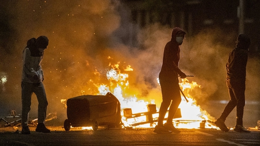 Loyalist unrest continues in Northern Ireland