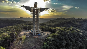 Christ the Protector will stand 43 metres tall
