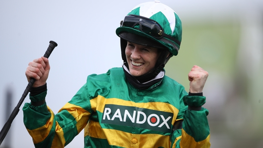 'I don't have the words to describe this' - Rachael Blackmore on historic Aintree win