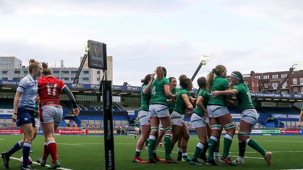 Ireland were on song in Cardiff