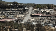 The Moria refugee camp became unusable following fires there last September