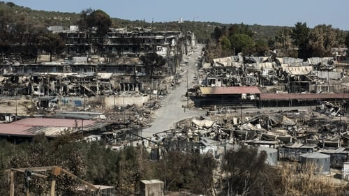 The Irish Government agreed to take in the 28 minors following a fire at the Moria refugee camp