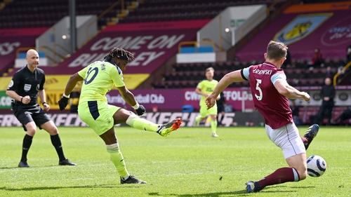 Allan Saint-Maximin fires home the winning goal