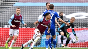 Jesse Lingard turns away after putting the Hammers in front