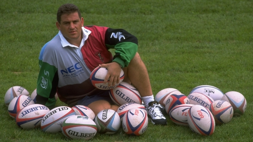Massimo Cuttitta pictured at the Stoop in 1997