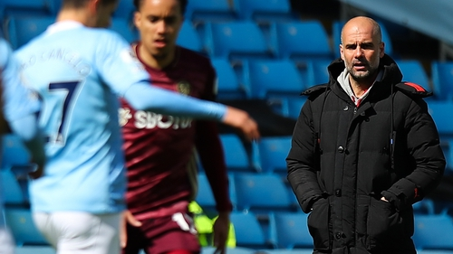 Pep Guardiola: 'Listen, I made changes but maybe I will play the same team in Dortmund'