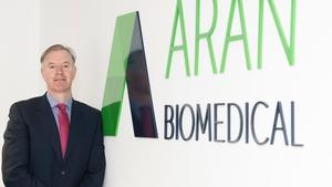 Peter Mulrooney, CEO of Aran Biomedical