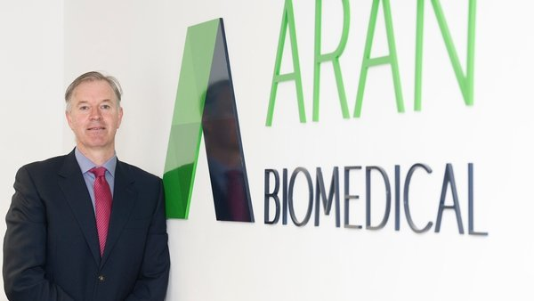Peter Mulrooney, CEO of Aran Biomedical