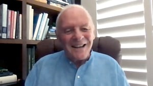 """Anthony Hopkins (pictured in October 2020) - """"I'm just so astounded"""""""