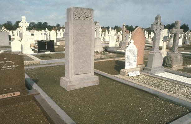 The grave of FJ McCormick in Deansgrange Cemetary, Dublin