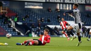 Callum Robinson scores to make it 3-0 to Southampton
