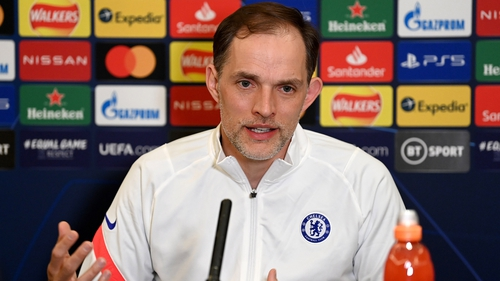 Thomas Tuchel speaking ahead of the game in Seville
