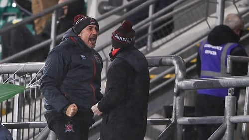 Filippo Giovagnoli is coach and Shane Keegan 'team manager' at Dundalk